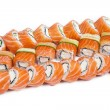 Sushi on the white - Stock Photo