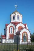Dzerzhinsk. il tempio in onore del monaco anthony il grande — Foto Stock