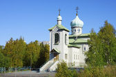 The temple �������������� the MostHoly mother of God in Kovdor. — Стоковое фото