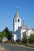La iglesia de la anunciación en la ciudad de volodarsk. rusia — Foto de Stock