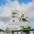 Church of the Dormition of the Holy Theotokos in the town of Bor — Stock Photo