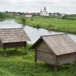 Storage shed nineteenth century in Russia — Stock Photo