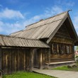 Russian peasant house of the nineteenth century — Stock Photo