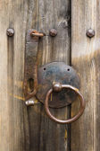 Antique doorknob — Stock Photo