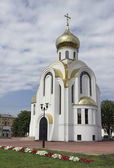 "Church of St. George and Our Lady ""Perishing"". Russia — Stock Photo"