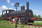Russian industrial locomotive beginning of the 1900s — Stock Photo