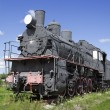 Steam locomotive built in Sweden from Russian project — Stock Photo