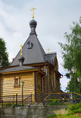 Wooden Church of Alexander Nevsky in Balakhna. Russia — Foto Stock