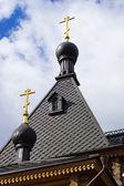 Dome chapel Alexander Nevsky in Balakhna. Russia — Stockfoto