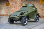 RUSSIA, NIZHNY NOVGOROD - AUG 06, 2014: Armored Car BA-64 World War II — Stock Photo