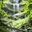 Stock Photo: Paehler Schlucht waterfall