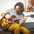 Guitar player - Stockfoto