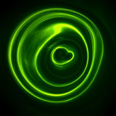 Green plasma — Stock Photo
