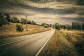 Autumn Road — Stock Photo