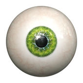 Green eye — Stock Photo