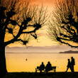 Tutzing evening mood — Stock Photo