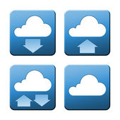 Cloud signs — Stockfoto