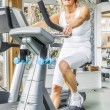 Fitness mature woman — Stock Photo