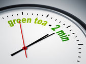 Green tea - 2 min — Stock Photo