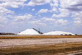 Salt in Port Headland Australia — Stock Photo