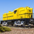 Yellow train — Stock Photo