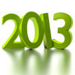 Stock Photo: Green 2013