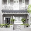 Stock Photo: Terrace house paddington sydney