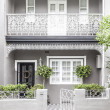 Terrace house paddington sydney - Stock Photo