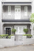 Terrace house paddington sydney — Stock Photo