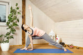 Yoga woman — Stockfoto