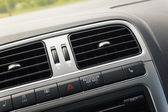 Car interior ventilation — Stock Photo