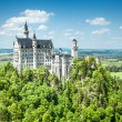 Castle Neuschwanstein Bavaria Germany — Stock Photo