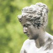 Woman sculpture — Stock Photo