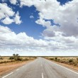 Stock Photo: Road to horizon
