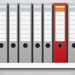 Folder row — Stock Vector #27418311