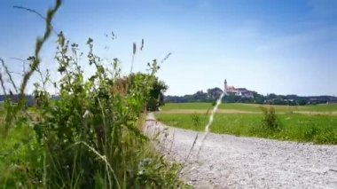 Andechs Monastery in Bavaria Germany — Stock Video