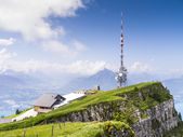Beatenberg Antenna — Stock Photo