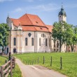 Wieskirche in Bavaria Germany — Stock Photo