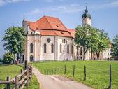 Wieskirche in Bavaria Germany — Stock Photo