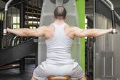 Bodybuilding man — Stock Photo