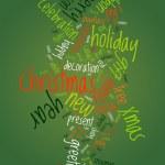 Christmas text cloud — Stock Vector #32063577