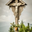 Jesus cross herzogstand — Stock Photo