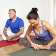 Yoga Exercise — Stock Photo