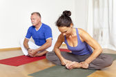 Yoga Exercise — Stock Photo