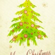 Stock Photo: Water color painting christmas