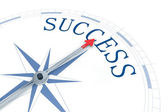 Compass Success — Stock Photo