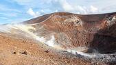 Lipari Islands active volcano — Stock Photo