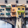 Ponte Vecchio Florence Italy — Stock Photo