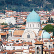 Synagogue in Florence Italy — Stock Photo