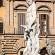 Neptune sculpture — Stockfoto